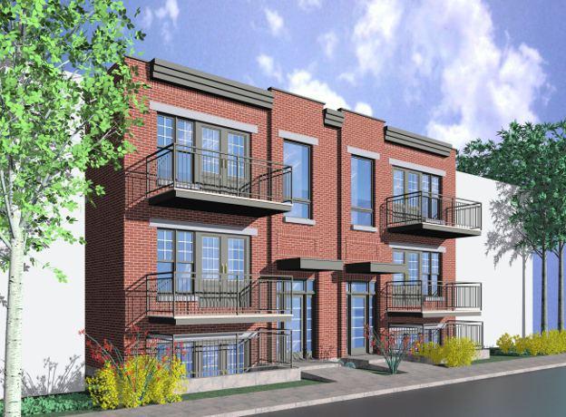 Condominium Buildings P 3 Architecture Portfolio Rak Rak Architects Inc Montreal