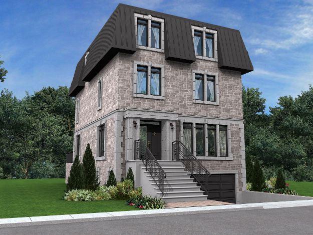 Residential Buildings P 2 Architecture Portfolio Rak Rak Architects Inc Montreal